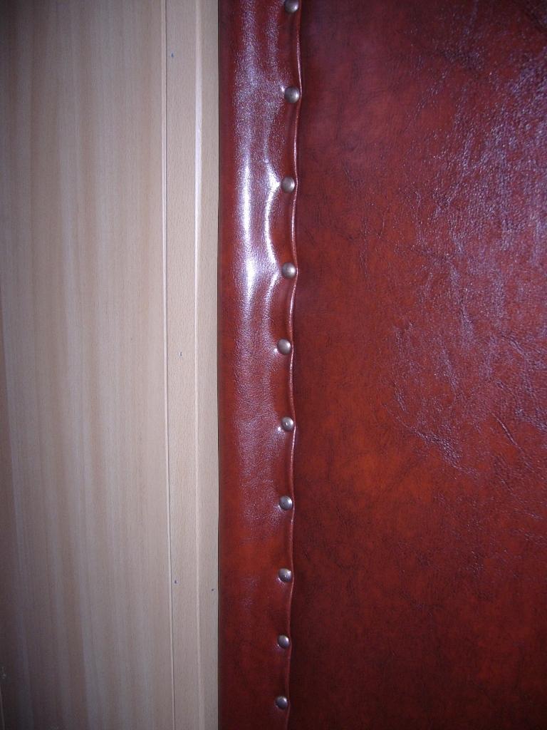 Обивка металлической двери